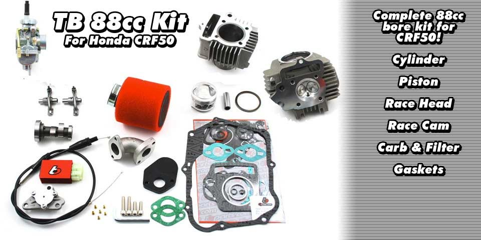 TB 88CC Bore Kit for CRF50