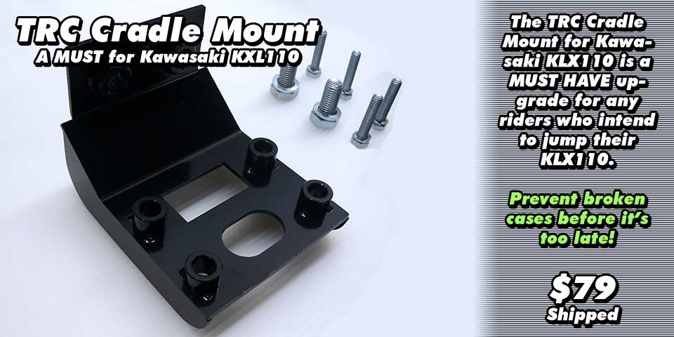 KLX110 Cradle Mount Adapter