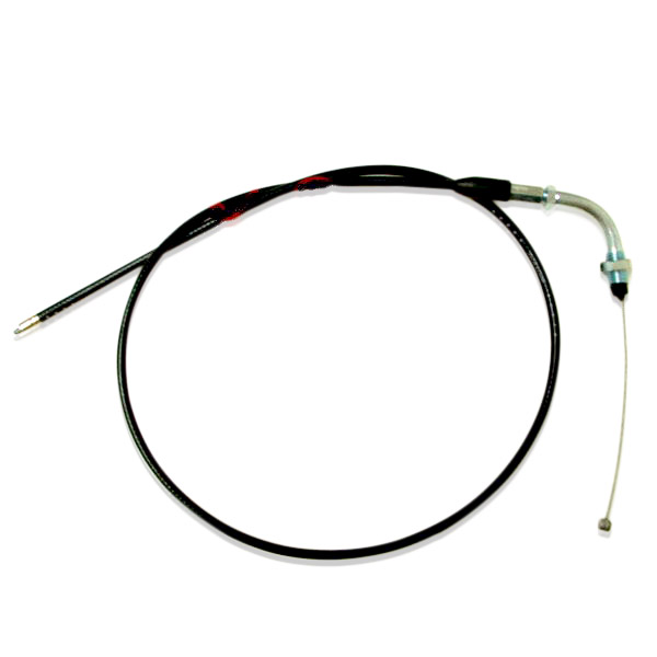 tbparts - throttle cable w   90 degree bend