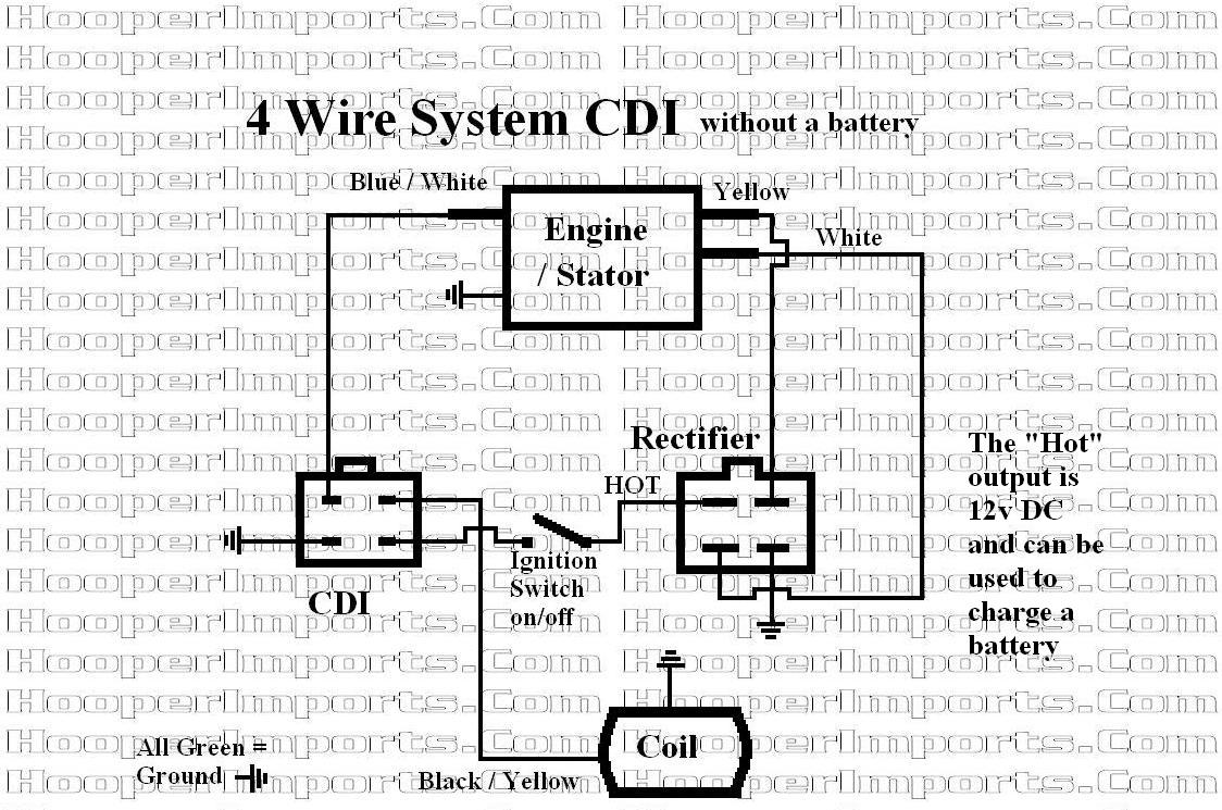 4 Wire Regulator Wiring Diagram - Wiring Diagrams Ac Cdi Wiring Diagram on