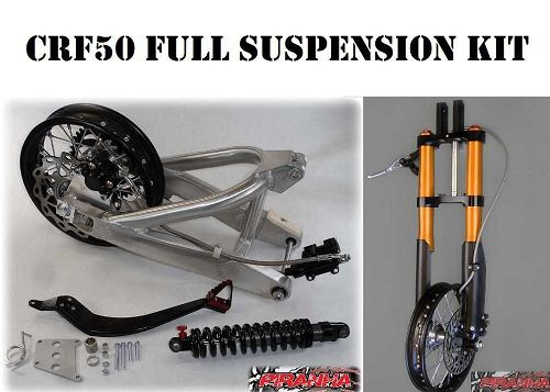 piranha pro 50 kit t-3 fits crf50  xr50 and pit bikes