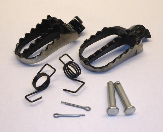 KLX 110 Wide Steel Pegs & Pins (Chrome) - TRC-5307 - Pegs ...