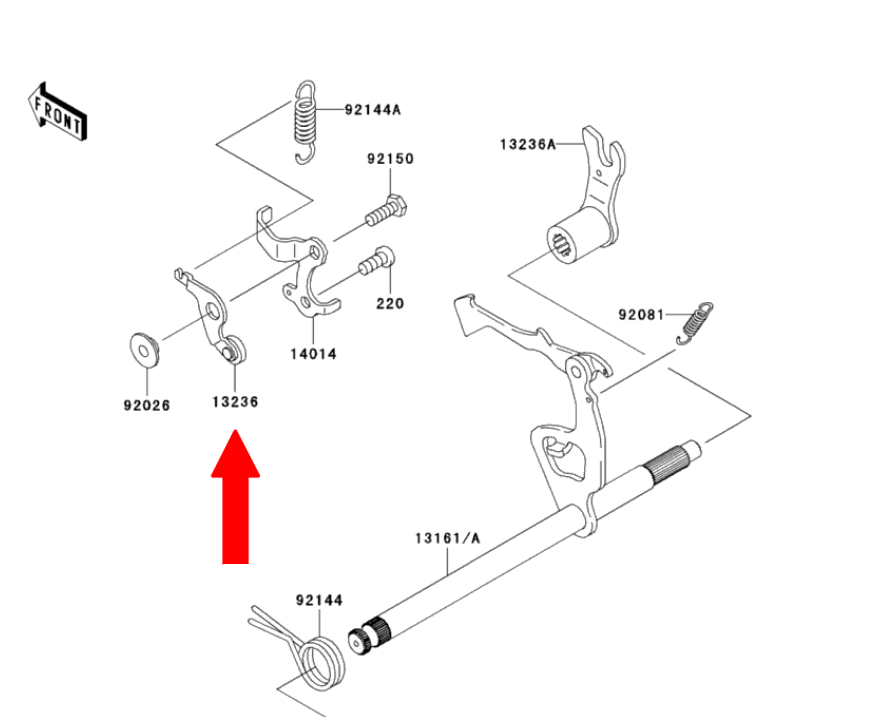 Noir 2000-2003 Court usiné 5D Brake Clutch Levers for Honda CB1100 X11