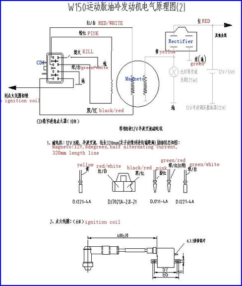 Wiring Diagram For A Lifan 125 : Tbolt usa tech database llc