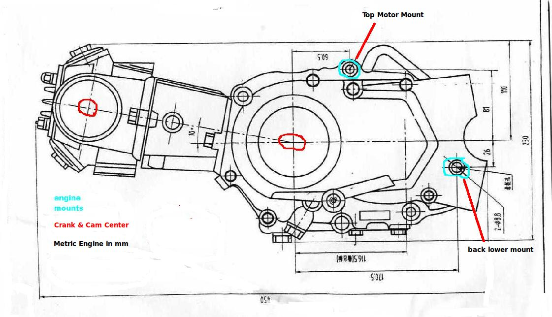 Pit Bike  26 Honda 50 2F70 Engine size on lifan engine wiring diagram