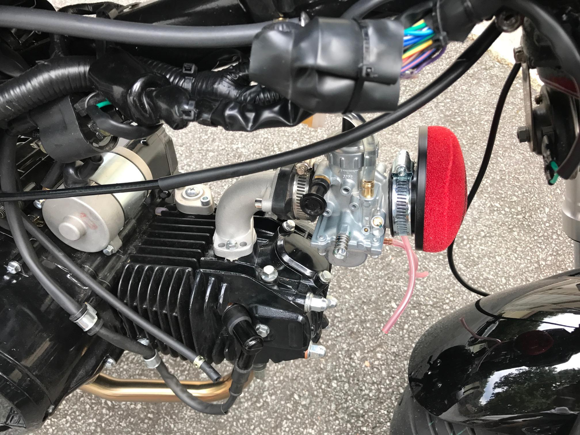 mikuni vm26 carburetor conversion parts for ssr razkull1