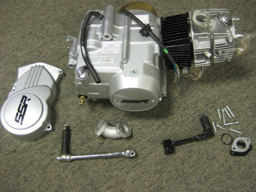 SSR 125cc Semi auto Engine - SSR-125-SEMI-2424 - SSR ...