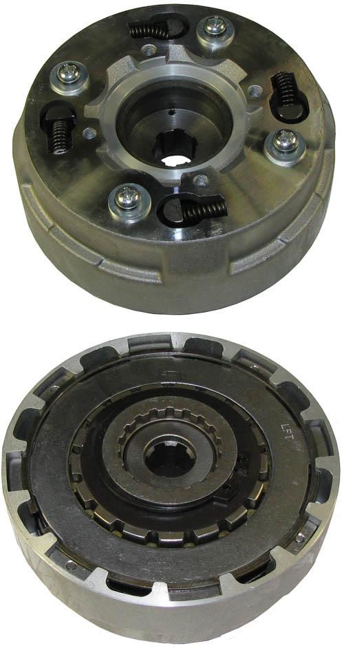Semi Clutch Kits : Whole clutch kit front semi cc trc