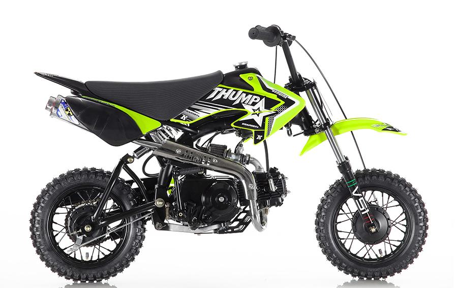 Thumpstar Pitbikes - TSB 70 - 70cc Semi-Auto Dirt Bike ...