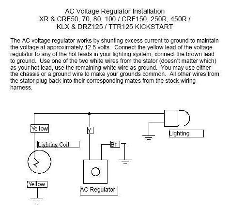 honda crf regulator rectifier wiring auto electrical wiring diagram u2022 rh 6weeks co uk