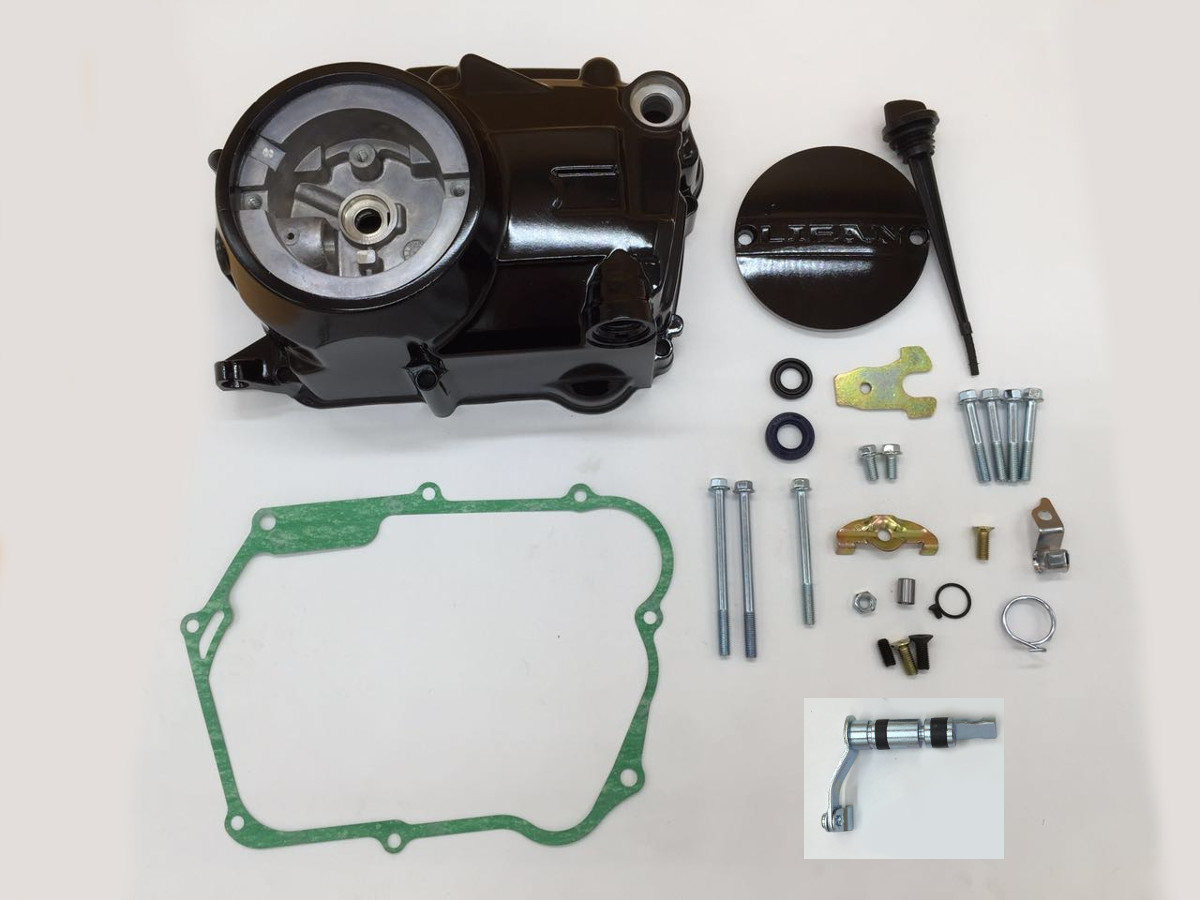 Honda Grom Price >> Lifan and SSR 125 Manual Clutch Cover assembly - TRC-9394 - Clutch Kits - Pit Bike Engine Parts ...