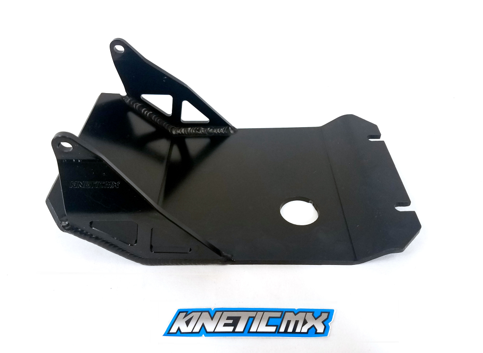 KINETIC SKID PLATES IN BLACK AND RED IN STOCK NOW !!