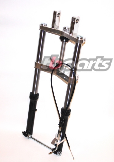 TBParts - Triple Clamp and Complete Fork Kit for Z50 - TBW9151 - Z50 K0-78 Chassis parts - Z50 ...