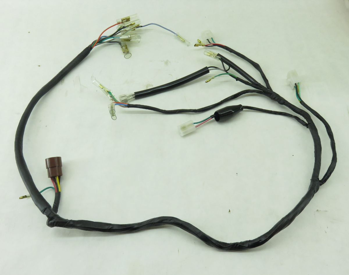 TBParts - Wire Harness for CT70 77-79 on honda nc50 wiring harness, honda sl70 wiring harness, honda key, honda cb550 wiring harness, honda s90 wiring harness, scooter brake electrical harness, honda sl125 wiring-diagram, honda ruckus wiring-diagram 03, honda cb750 wiring harness, honda ct90 wiring harness, honda ruckus gy6 wiring-diagram, honda ruckus wiring switch, honda crf450x wiring harness,