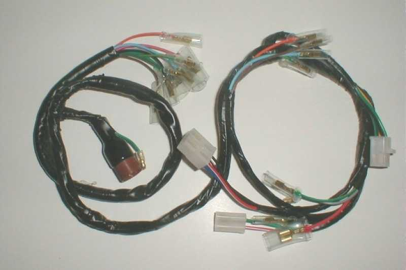 tbparts wire harness for ct70 k3 76 tbw0158 electrical 1 ct70 reproduction wire
