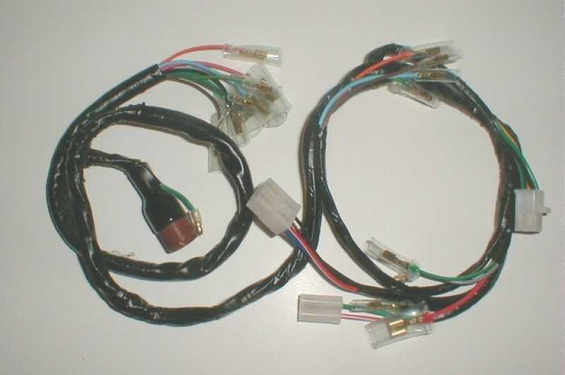 honda s90 wiring harness tbparts wire harness for ct70 k3 76 tbw0158 electrical  tbparts wire harness for ct70 k3 76