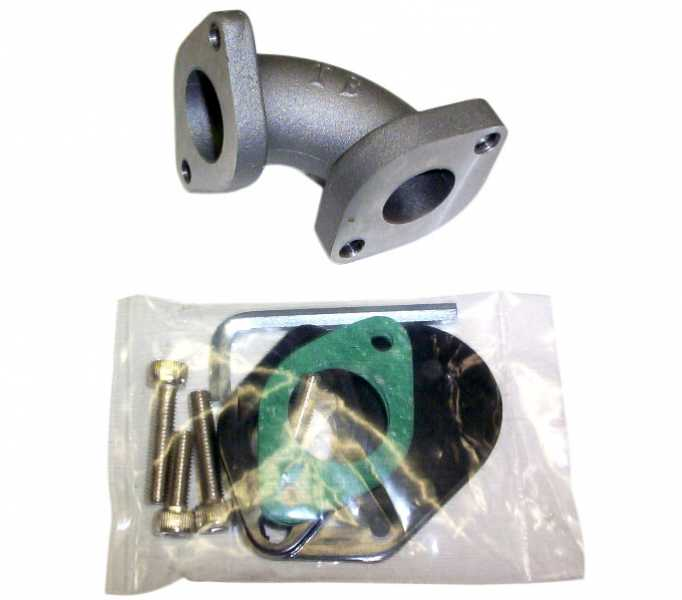 TBParts - 20MM-24MM Intake Kit for RACE head Z50 CRF50 XR50 & Pit bikes