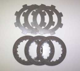 TBParts - Manual Clutch KIT REPLACEMENT disks -  <br> Z50 CRF50 XR50 & Pit bikes1