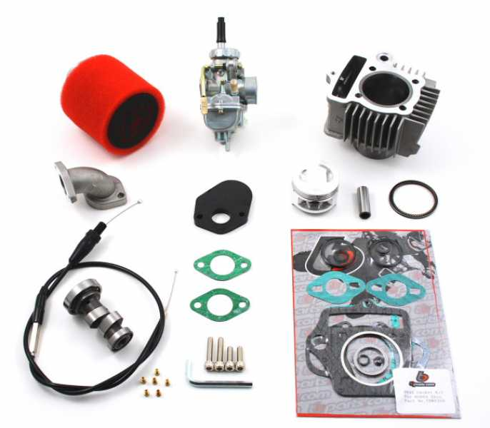 TBParts 88cc Big Bore Kit, Race Cam and 20mm Carb Kit for Z50 CRF50 XR50  88-Present
