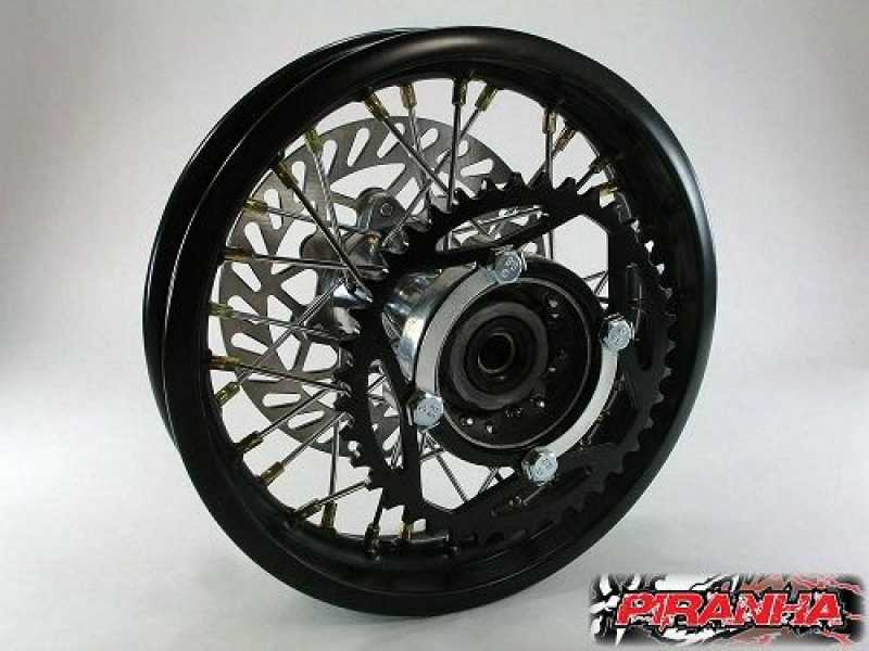 Pit Bike 10 Quot Rear Wheel Whs 1073 Wheels Amp Parts Pit