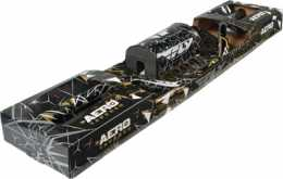 Fly Racing Aero Tapered Graphic Bars <br> CR Hi Gold Smoke