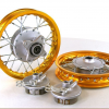 "10"" Gold Aluminum Wheels - Honda CRF501"