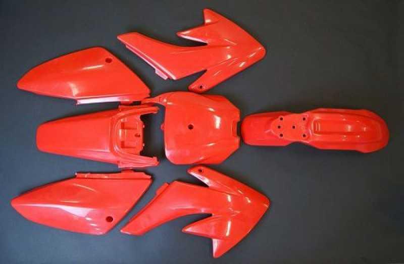 Honda Crf 80 >> CRF70 & Pitbike Plastics kit Red - WHS-2381 - Plastics & Graphics - Pit Bike Chassis Parts ...