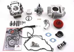 TBParts - 143cc Bore Kit, Race Head V2 and 26mm Carb Kit <br> for KLX110 02-09 and DRZ1101