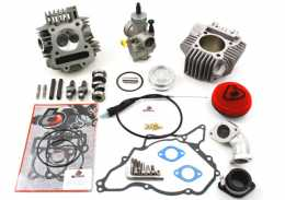 TBParts - 165cc Bore Kit, Race Head V2 and 28mm Carb Kit <br> for DRZ110 and KLX1101
