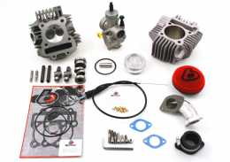 TBParts - 184cc Bore Kit, Race Head V2 w/ 28mm Carb Kit <br> GPX Pitster YX Piranha Lifan SSR1
