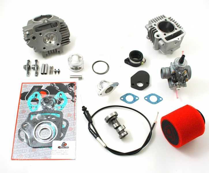 TBParts - 114cc Bore Kit w/ Race head (TRX90)