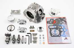 .TBParts - Roller Rocker Race Head V2 Kit for 88cc & 108cc <br> Z50 CRF50 XR50 & Pit bikes1