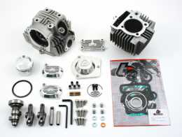 .TBParts - Roller Rocker Race Head V2 114cc Big Bore Kit <br> For Honda TRX 901