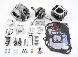 .TBParts - Roller Rocker Race Head V2 108cc Big Bore Kit <br> XR70 & CRF701