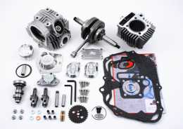 TBParts - Vintage Race Head V2 108cc Big Bore Kit and Stroker Crank <br> Z50 69-81  CT70 3 speed 69-79  ATC70 73-801