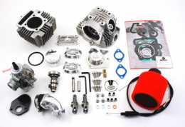 .TB Roller Rocker Race Head V2 114cc Big Bore w/ VM26 Carb Kit <br> China 90cc-110cc engines1