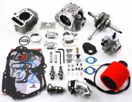 .TBParts - Roller Rocker Race Head V2 108cc Big Bore w/ Mikuni VM26 Kit <br> XR70 & CRF701