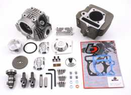 .TBParts - Roller Rocker Race Head V2 146cc Big Bore Kit <br> China 124cc & 140cc engines1