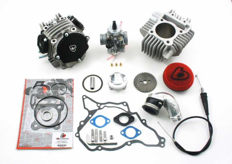 TBParts - 143cc Bore Kit, Race Head and VM26mm Mikuni Carb for KLX110  KLX110L 2010 - Present
