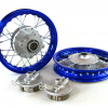 "10"" Blue Aluminum Wheels - Honda CRF501"