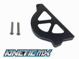 Kinetic MX -  Sprocket Guard in Black for CRF 1101