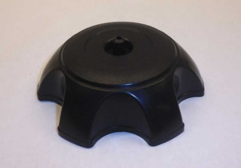 Black Plastic Standard Gas Cap