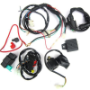 electric start wiring kit and harness 12 vac whs 4179 electrical pit bike engine parts