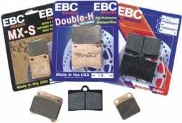 EBC - Rear Brake Pad Set - KTM 60SX '00, 65SX '00-03 - Hi Performance1