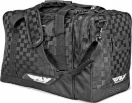 "FLY Carry-On Duffle Black/Grey 12"" X 12"" X 25""1"