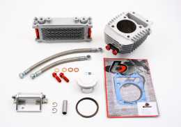 TBParts - 186cc Big Bore Kit with Oil Cooler Honda MSX125 GROM and Monkey 2014-present1
