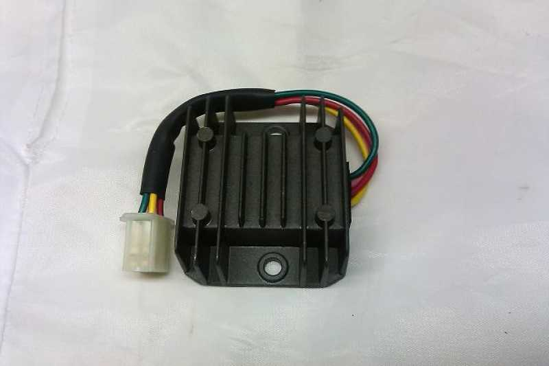 Voltage Regulator / Rectifier H-D 12V 4 wire type on