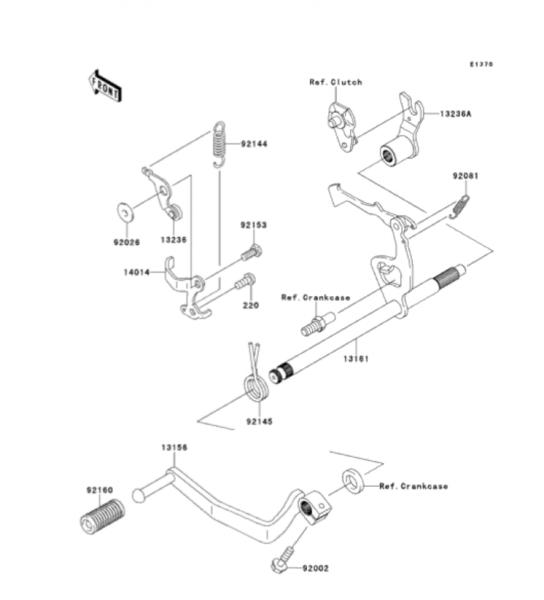 2004 Klx 110 Wiring Diagram – name Kawasaki Klx Ignition Wiring Diagram on
