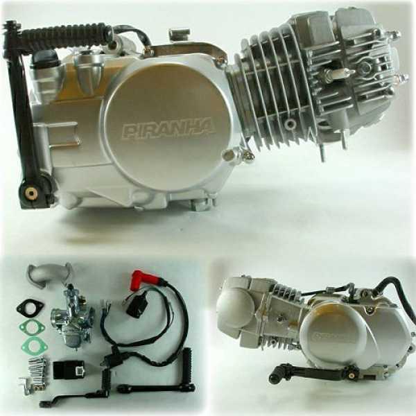 Piranha 125 Engine - WHS-2195 - Piranha Engines - Engines - TBolt USA, LLC