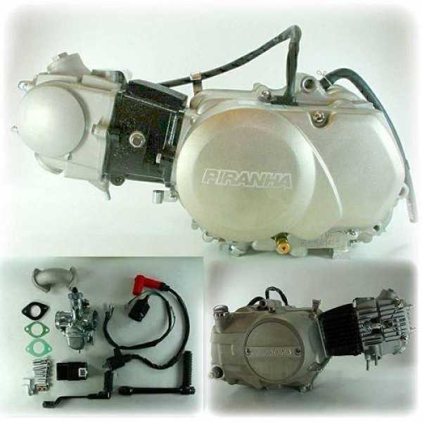 roketa 90cc atv wiring diagram piranha 90cc semi-auto engine w/ carb & electric - whs-4061 - piranha engines - engines - tbolt ...